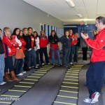 Capitals Hockey &#039;N Heels 2011 - Strength &amp; Conditioning Session (Cheryl Nichols/District Sports Page)