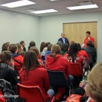 Hockey &#039;N Heels 2011 - Chalk Talk with Alan May and John Walton (Cheryl Nichols/District Sports Page)