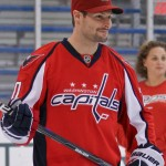 Capitals Hockey 'N Heels 2011 - On-Ice: Shooting with Troy Brouwer (Cheryl Nichols/District Sports Page)
