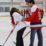 Capitals Hockey &#039;N Heels 2011 - On-Ice: Shooting with Caps Alum Alan May (Cheryl Nichols/District Sports Page)