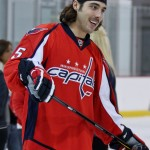 Capitals Hockey 'N Heels 2011 - On-Ice: Shooting with Mathieu Perreault (Cheryl Nichols/District Sports Page)