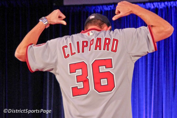 Clippard #36 (Photo by Cheryl Nichols)
