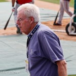 Peter Gammons was watching Nats BP (Cheryl Nichols/District Sports Page)