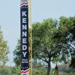 New signage on left field foul pole (Cheryl Nichols/District Sports Page)