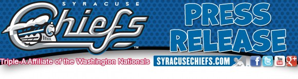 Syracuse Chiefs Press Release Header