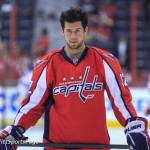 Mike Green during warmups at Verizon Center, May 2 (Cheryl Nichols/District Sports Page)
