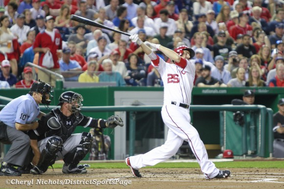 Adam LaRoche - Chicago White Sox v. Washington Nationals, 4/9/2013 (Cheryl Nichols/District Sports Page)