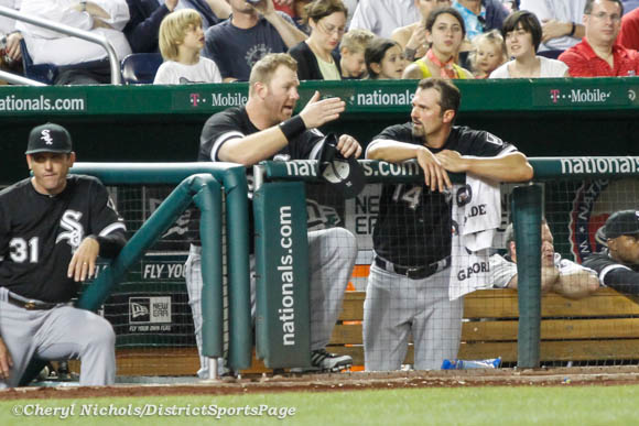 Former Nat Adam Dunn - Chicago White Sox v. Washington Nationals, 4/9/2013 (Cheryl Nichols/District Sports Page)