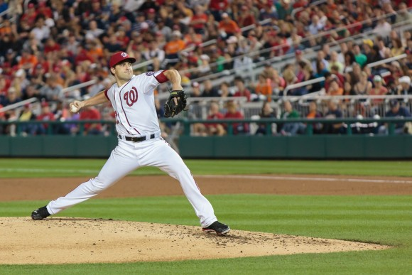 Washington Nationals Nathan Karns MLB debut, May 28, 2013 (Photo Courtesy of Jenn Jenson)