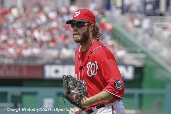 Jayson Werth - Atlanta Braves v. Washington Nationals, 4/14/2013 (Cheryl Nichols/District Sports Page)