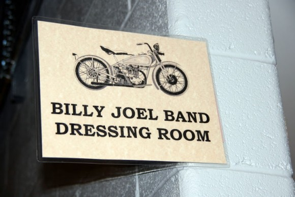 Billy Joel's Dressing Room at Nationals Park in July 2009 (Photo by Cheryl Nichols)