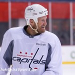 Jason Chimera Washington Capitals Practice, 10/07/2014 (Photo by Cheryl Nichols/District Sports Page)