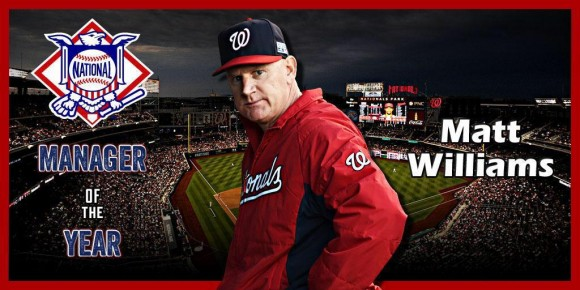 Matt Williams NL Manager of the Year